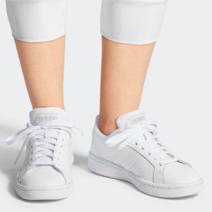 adidas grand court femme mauve